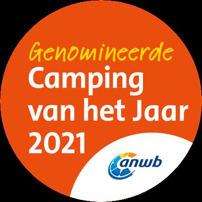 Genomineerd voor beste kleine ANWB camping van heel Nederland