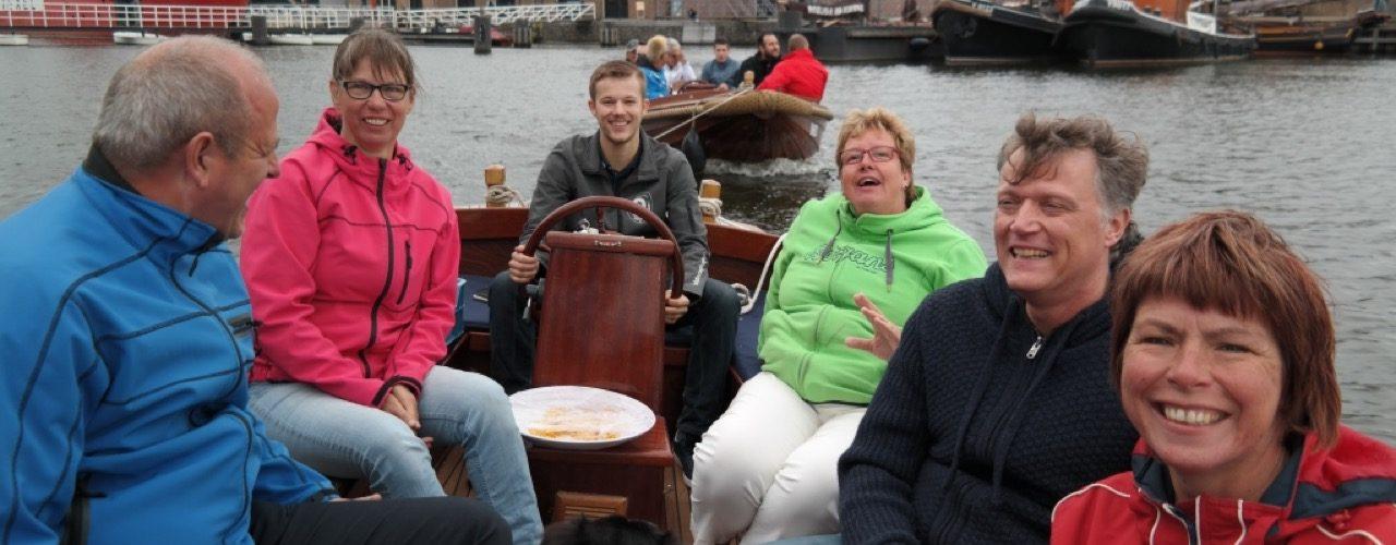 Varen door Den Helder en een bierproeverij op Fort Westoever