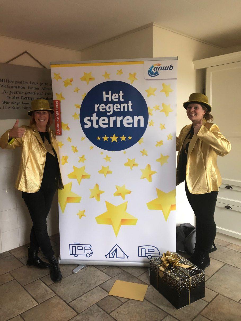 Hoera! We zijn 1 van de 3  beste kleine ANWB campings van Nederland !!