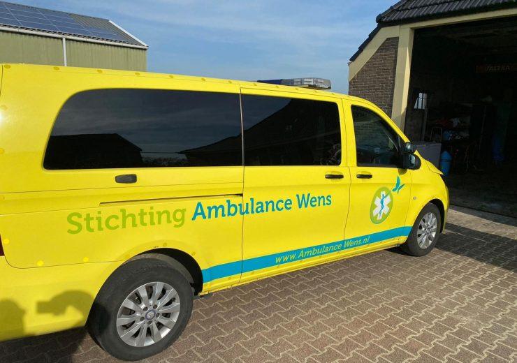 Wens ambulance komt langs